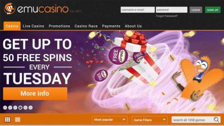 Emu casino review for New Zealand